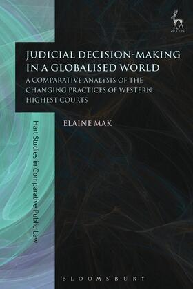Mak | Judicial Decision-Making in a Globalised World | Buch | Sack Fachmedien