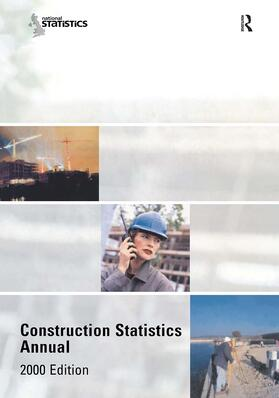 Department of the Environment, Transport and the Regions | Construction Statistics Annual, 2000 | Buch | sack.de