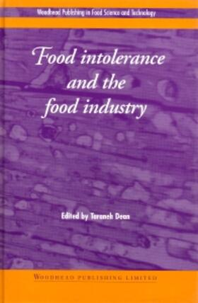 Dean | Food Intolerance and the Food Industry | Buch | sack.de