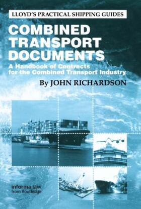 Richardson   Combined Transport Documents   Buch   sack.de