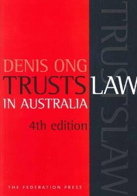 Ong | Trusts Law in Australia | Buch | sack.de