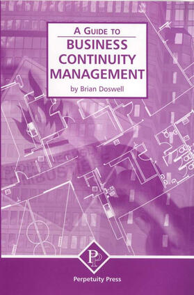 Doswell   Business Continuity Management (A Guide to)   Buch   sack.de
