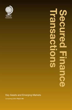 Ali | Secured Finance Transactions | Buch | sack.de