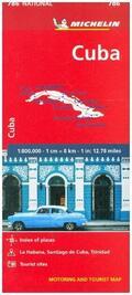 MICHELIN Michelin Karte Kuba   Sack Fachmedien