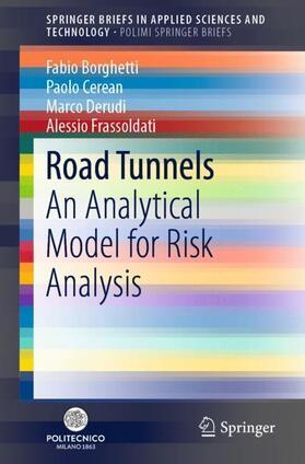 Borghetti / Cerean / Derudi | Road Tunnels | Buch | Sack Fachmedien