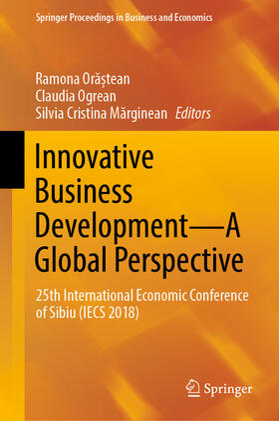 Marginean / Ogrean / Ora?tean | Innovative Business Development-A Global Perspective | Buch | sack.de