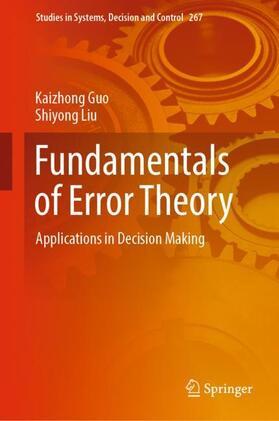 Guo / Liu | Fundamentals of Error Theory | Buch | sack.de