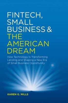 Mills | Fintech, Small Business & the American Dream | Buch | sack.de