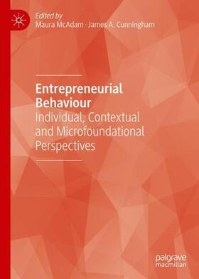 McAdam / Cunningham | Entrepreneurial Behaviour | Buch | sack.de