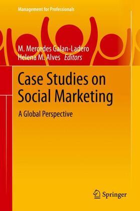 Galan-Ladero / Alves | Case Studies on Social Marketing | Buch | sack.de