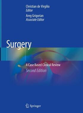 de Virgilio / Grigorian | Surgery | Buch | sack.de