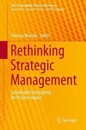 Wunder | Rethinking Strategic Management | Buch | sack.de