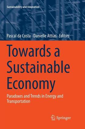 Attias / da Costa   Towards a Sustainable Economy   Buch   sack.de