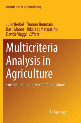 Berbel / Bournaris / Manos | Multicriteria Analysis in Agriculture | Buch | sack.de
