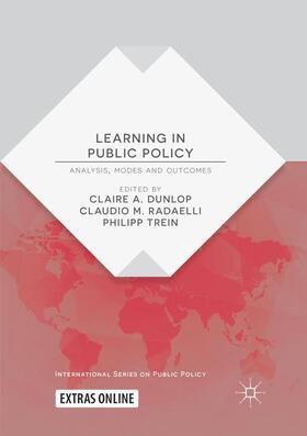 Dunlop / Radaelli / Trein | Learning in Public Policy | Buch | sack.de