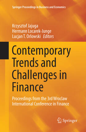 Jajuga / Locarek-Junge / Orlowski | Contemporary Trends and Challenges in Finance | Buch | sack.de