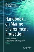 Salomon / Markus    Handbook on Marine Environment Protection , 2 Teile   Buch    Sack Fachmedien