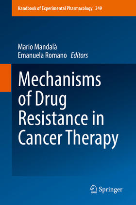 Mandalà / Romano | Mechanisms of Drug Resistance in Cancer Therapy | Buch | sack.de