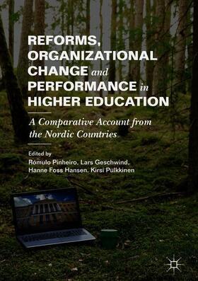 Pinheiro / Geschwind / Foss Hansen | Reforms, Organizational Change and Performance in Higher Education | Buch | sack.de