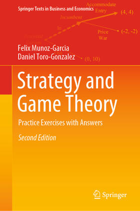 Munoz-Garcia / Toro-Gonzalez | Strategy and Game Theory | Buch | sack.de