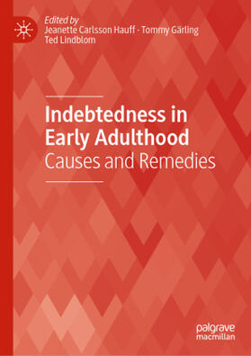 Hauff / Gärling / Lindblom   Indebtedness in Early Adulthood   Buch   sack.de