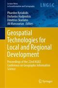 Kyriakidis / Hadjimitsis / Skarlatos    Geospatial Technologies for Local and Regional Development   Buch    Sack Fachmedien