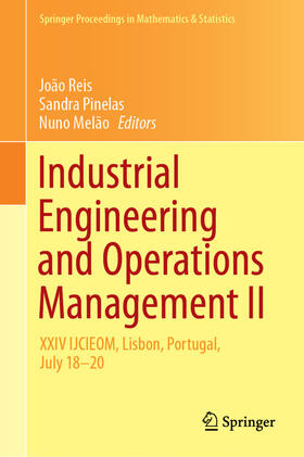 Reis / Pinelas / Melão | Industrial Engineering and Operations Management II | Buch | sack.de