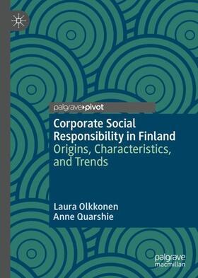 Olkkonen / Quarshie | Corporate Social Responsibility in Finland | Buch | sack.de