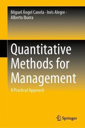 Canela / Alegre / Ibarra   Quantitative Methods for Management   Buch   sack.de