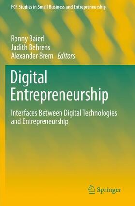 Baierl / Behrens / Brem | Digital Entrepreneurship | Buch | sack.de