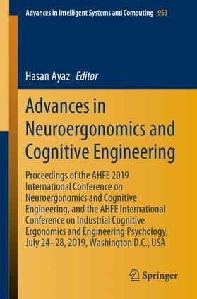 Ayaz | Advances in Neuroergonomics and Cognitive Engineering | Buch | sack.de
