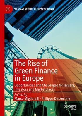 Migliorelli / Dessertine   The Rise of Green Finance in Europe   Buch   sack.de