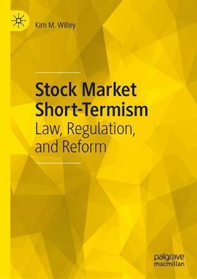 Willey | Stock Market Short-Termism | Buch | sack.de
