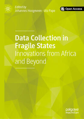 Hoogeveen / Pape | Data Collection in Fragile States | Buch | sack.de