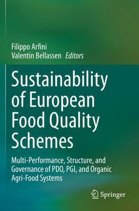Arfini / Bellassen | Sustainability of European Food Quality Schemes | Buch | sack.de