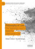 Block / Whitehead |  Philosophy of Law | eBook | Sack Fachmedien