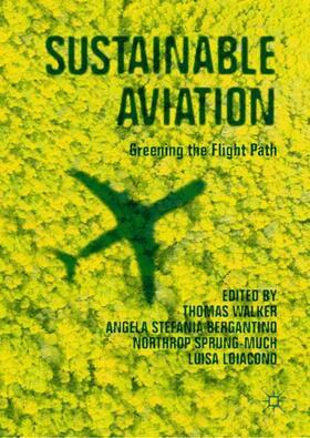 Walker / Bergantino / Sprung-Much   Sustainable Aviation   Buch   sack.de