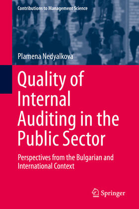 Nedyalkova | Quality of Internal Auditing in the Public Sector | Buch | sack.de