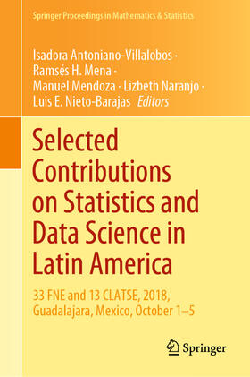 Antoniano-Villalobos / Mena / Mendoza | Selected Contributions on Statistics and Data Science in Latin America | Buch | sack.de
