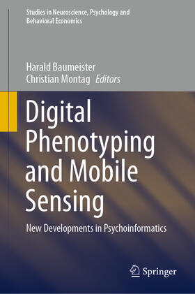 Baumeister / Montag | Digital Phenotyping and Mobile Sensing | Buch | sack.de