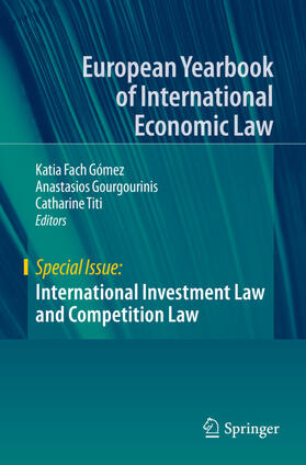 Fach Gómez / Titi / Gourgourinis   International Investment Law and Competition Law   Buch   sack.de