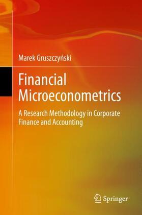 Gruszczynski / Gruszczynski | Financial Microeconometrics | Buch | sack.de