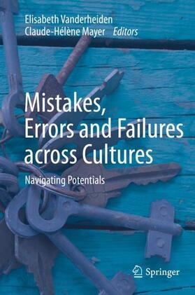 Vanderheiden / Mayer | Mistakes, Errors and Failures across Cultures | Buch | sack.de