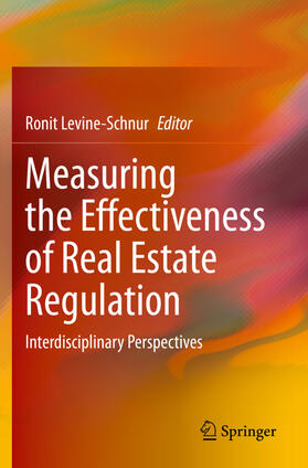 Levine-Schnur | Measuring the Effectiveness of Real Estate Regulation | Buch | sack.de