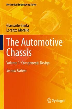 Genta / Morello   The Automotive Chassis   Buch   sack.de