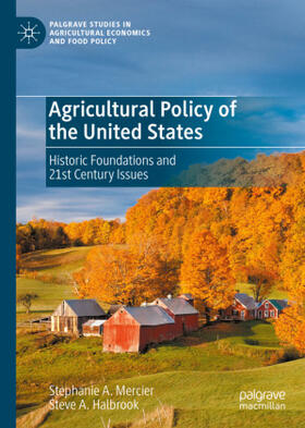 Mercier / Halbrook | Agricultural Policy of the United States | Buch | sack.de