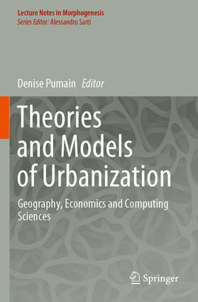 Pumain | Theories and Models of Urbanization | Buch | sack.de