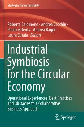 Salomone / Cecchin / Deutz | Industrial Symbiosis for the Circular Economy | Buch | sack.de