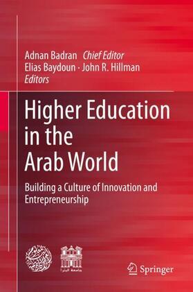 Badran / Baydoun / Hillman | Higher Education in the Arab World | Buch | sack.de