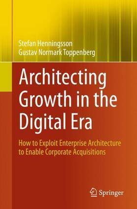 Toppenberg / Henningsson | Architecting Growth in the Digital Era | Buch | sack.de